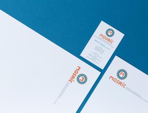 Huistijl/logo ontwerp Mosaic